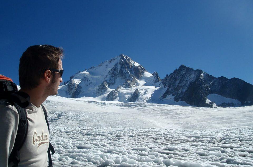 Ascension du Glacier du Tour à Chamonix