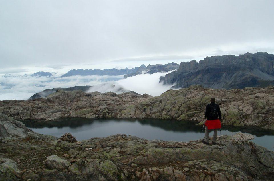 Ascension des lacs noirs à Chamonix