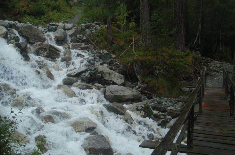 Randonnée à Chamonix au Glacier des Bossons