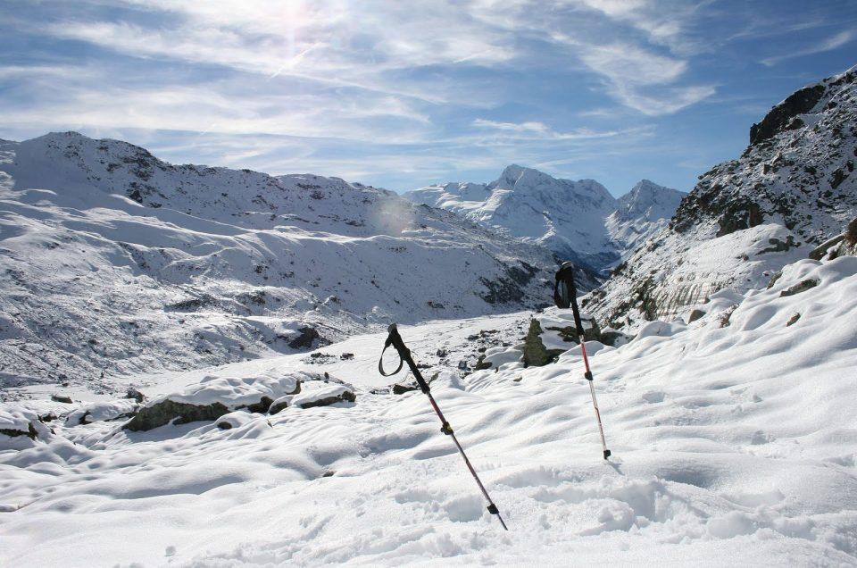 Ascension du lac du Petit à Chamonix